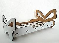 Игрушка Кровать большая 3 для кукол Барби, Братц, Монстер Хай, фото 1