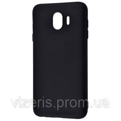 Чехол- накладка на Samsung Galaxy J4 (J400) Силикон 0.5 mm Black Matt