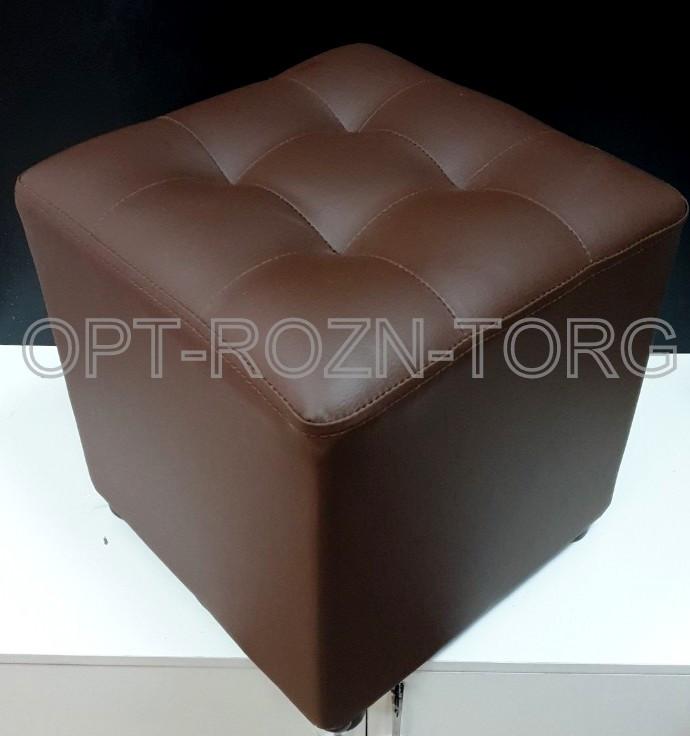 Пуфик мягкий квадратный 40 х 40 см