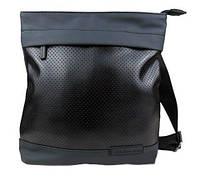 Сумка на плечо мужская черная стильная от Кельвин Кляйн