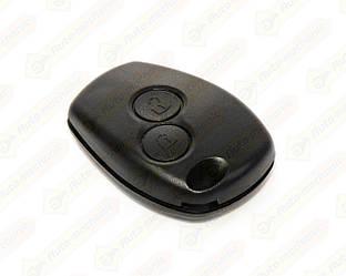 Корпус ключа БЕЗ язычка, на 2 кнопки на Renault Megane III 2009->2016 — DSP - 291005