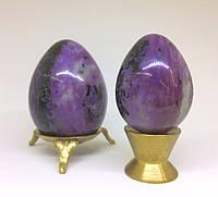 Яйцо из чароита малое, фото 1