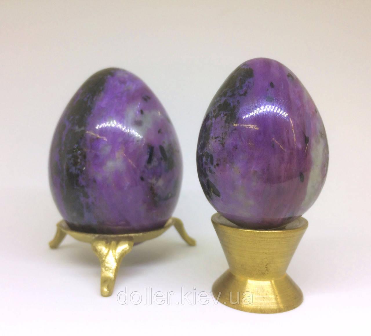 Яйцо из чароита малое