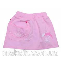 Летняя юбка для девочки р.104-116