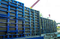 Щит стеновой вертикальной опалубки 900 х 2850 (мм)