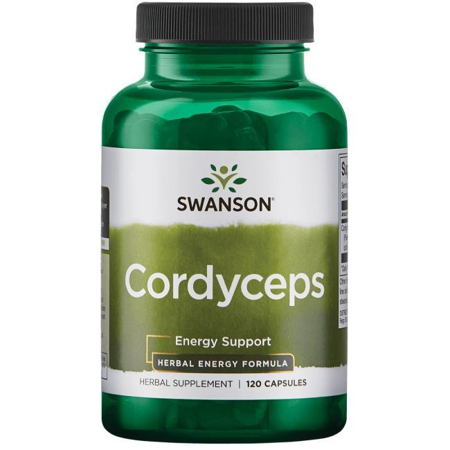 Cordyceps Кордицепс чистый Swanson 120 капс