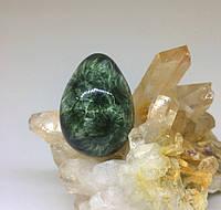 Яйцо из ангельского камня Серафинит, фото 1