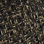 Пряжа Yarnart Camellia 413 черный с золотом (Ярнарт Камелия)