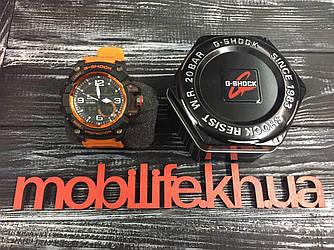 Часы G-Shock оранжевые копия LUX