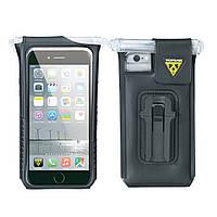 Сумка для телефона Topeak Smartphone DryBag iPhone 6/6S/7, с/фикс.F55, 57г, черн.