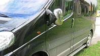 Накладки на зеркала для Opel Vivaro, Опель Виваро