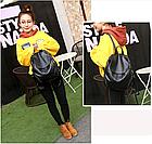 Рюкзак PU кожзам женский чёрный, фото 2