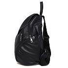 Рюкзак PU кожзам женский чёрный, фото 6