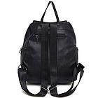 Рюкзак PU кожзам женский чёрный, фото 7