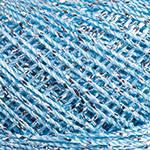 Пряжа Yarnart Camellia 417 голубой (Ярнарт Камелия)