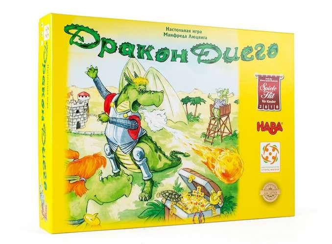 Дракон Диего настольная игра