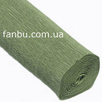 Креп бумага хаки №562,производство Италия, фото 1