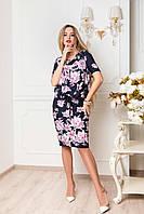 Коктейльное платье размеры 48+, фото 1