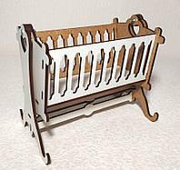 Игрушка Кровать-люлька 1 для малыша кукол Барби, Братц, Монстер Хай, фото 1