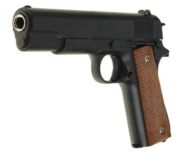 Страйкбольный пистолет Galaxy G13 (Colt M1911 Classic) купить