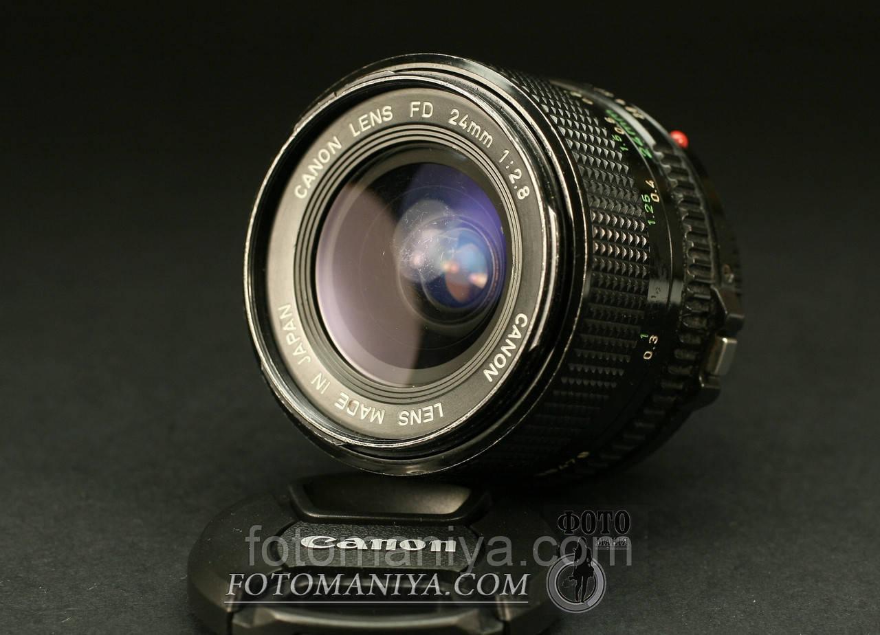Canon nFD 24mm f2.8