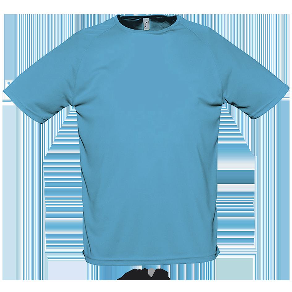 Спортивная футболка, морской, SOL'S SPORTY от XS до XXL