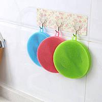 Губка силиконовая для мытья посуды, Все для Кухни, Губка силіконова для миття посуду