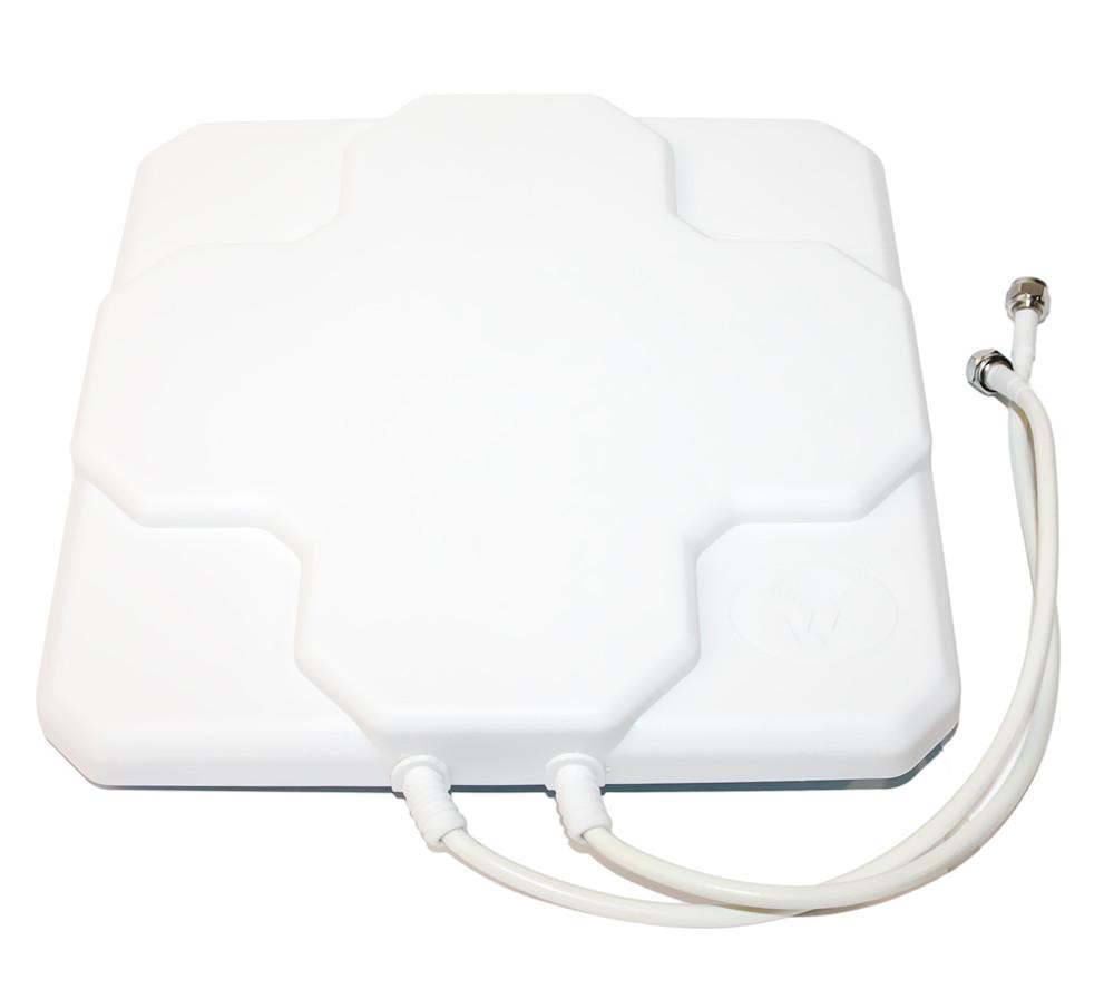 Антенна планшетная  4G LTE MIMO 2×17 dbi РАЗЪЁМ: CRC9