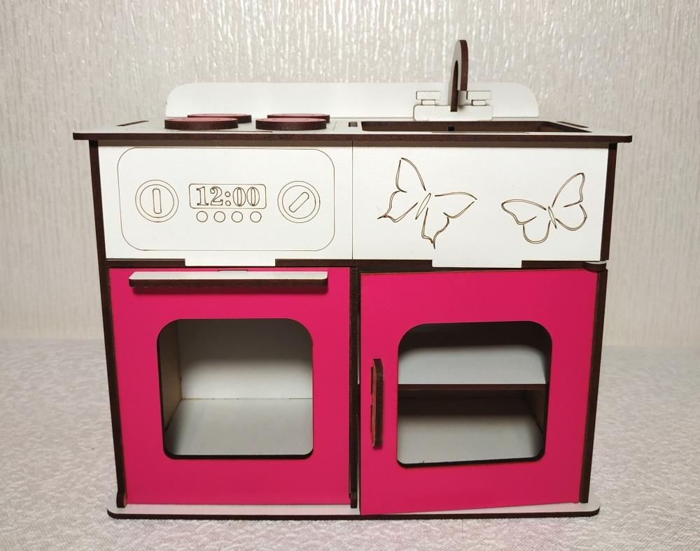 Игрушка Кухня 2 для кукол Барби, Братц, Монстер Хай