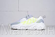 Мужские кроссовки adidas Yeezy Boost 700 VX White / Grey Адидас Изи Буст 700 белые с серым, фото 3