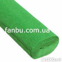 Креп бумага ярко-зеленый №563,производство Италия, фото 1