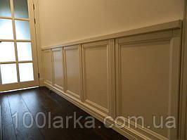 Дерев'яні панелі для стін, оздоблення стін деревом.