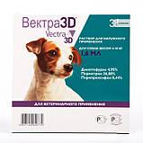 Капли от блох и клещей Ceva VECTRA 3D (Сева ВЕКТРА) для собак 4-10 кг (1 пипетка), фото 2
