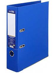 Папка-реєстратор А4 Люкс 70 мм, синя, Economix E39723 * -02
