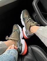 Женские кроссовки Adidas Falcon Khaki, фото 2