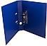 Папка-регистратор А4 Люкс 70 мм, синяя, Economix, фото 3