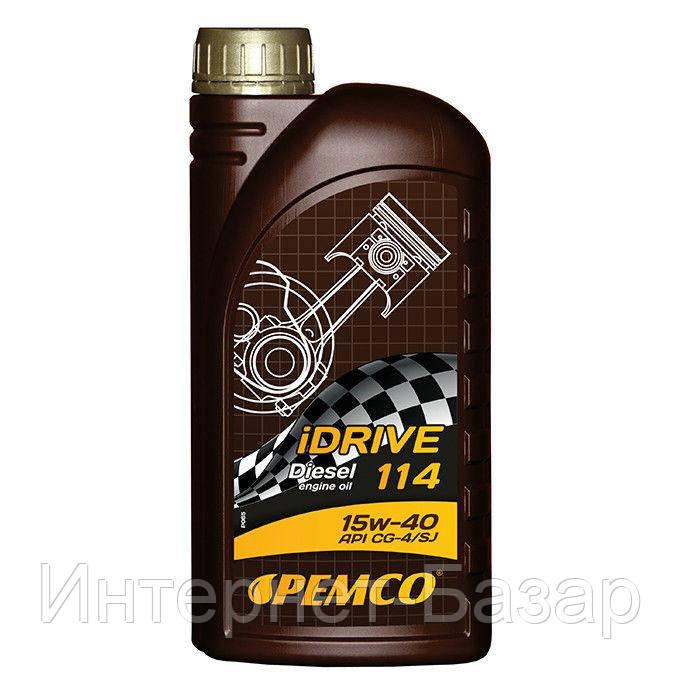 Масло PEMCO iDRIVE 114 SAE 15W-40 1 л