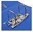 Папка-регистратор А4 Люкс 70 мм, синяя, Economix, фото 4