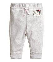 Трикотажные штанишки H&M. 12-18 месяцев