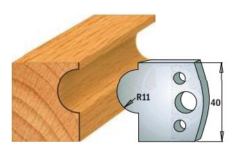 Профильные ножи (пара) 690.093 40x4 SP, фото 2