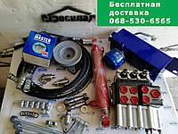 Комплект для установки гидравлики на мотоблок, мини/мототрактор с гидроцилиндром и 3-секц. распределителем