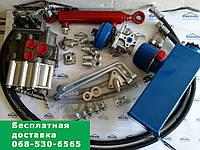 Комплект гидравлики мотоблока, мототрактора с 2-секционным распределителем