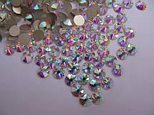 Стразы ss12 Crystal AB, Xirius 16 граней, 100шт. (3,2мм)