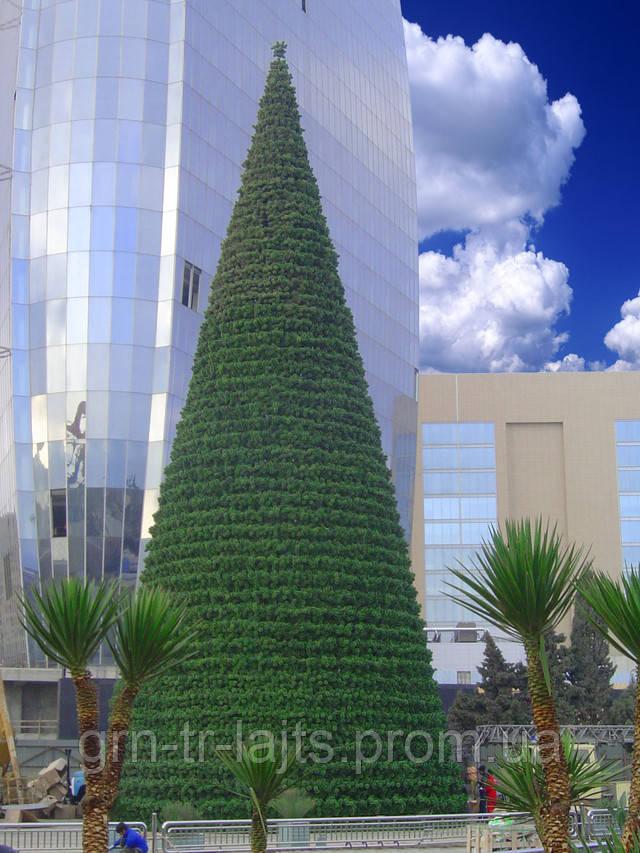 Конусная (каркасная) елка