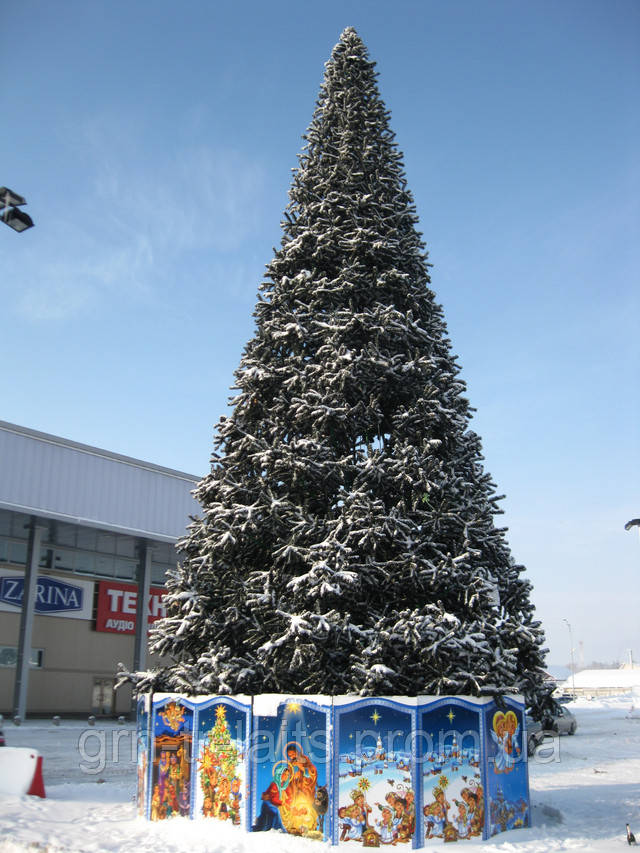 Ствольная елка