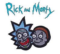 Нашивка на одежду Рик и Морти Rick and Morty