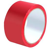 Скотч 48мм х 50м 0,040 ммк красный