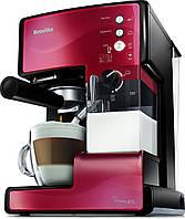 Кофеварка BREVILLE Prima Latte VCF046X  Red