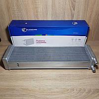 Радиатор отопителя (печки) УАЗ-452 (Буханка, Таблетка, Санитарка), алюминий, D=16мм (пр-во LUZAR)