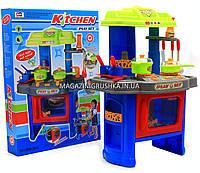 Набор детский «Кухня маленькой хозяюшки» (свет, музыка) (салатово-голубая), фото 1